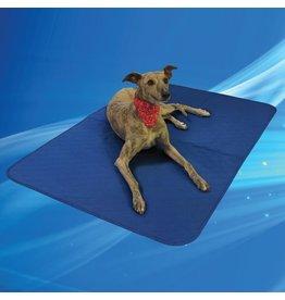 Aqua Coolkeeper Dog Cooling Blanket Pacific Blue
