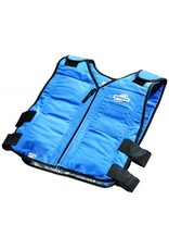 TechKewl Koelvest Front Zipper Blauw