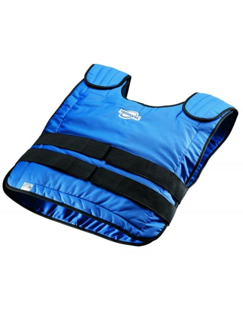 TechKewl Cooling Vest Pullover Blue