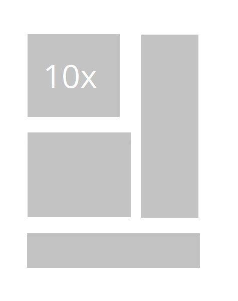 10x statische Banner/ Bildanzeigen (nicht animiert)