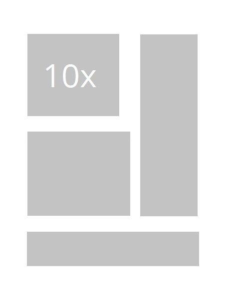 10x animierte Banner/ Bildanzeigen
