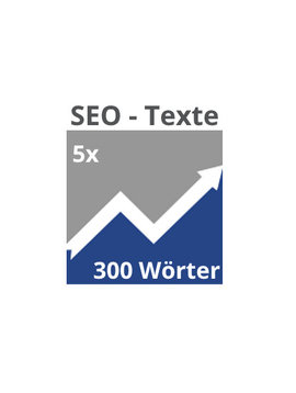 5x SEO-Texte (300 Wörter)