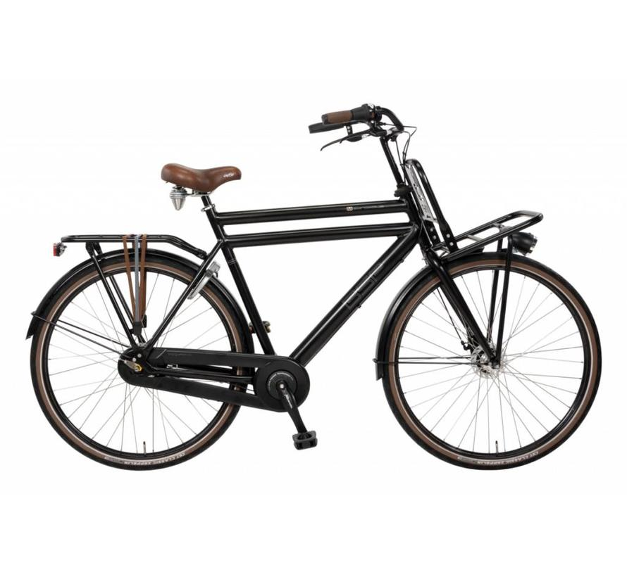 Metropolis Plus Heren 28 inch Transportfiets 56 cm N3 frozen black matt