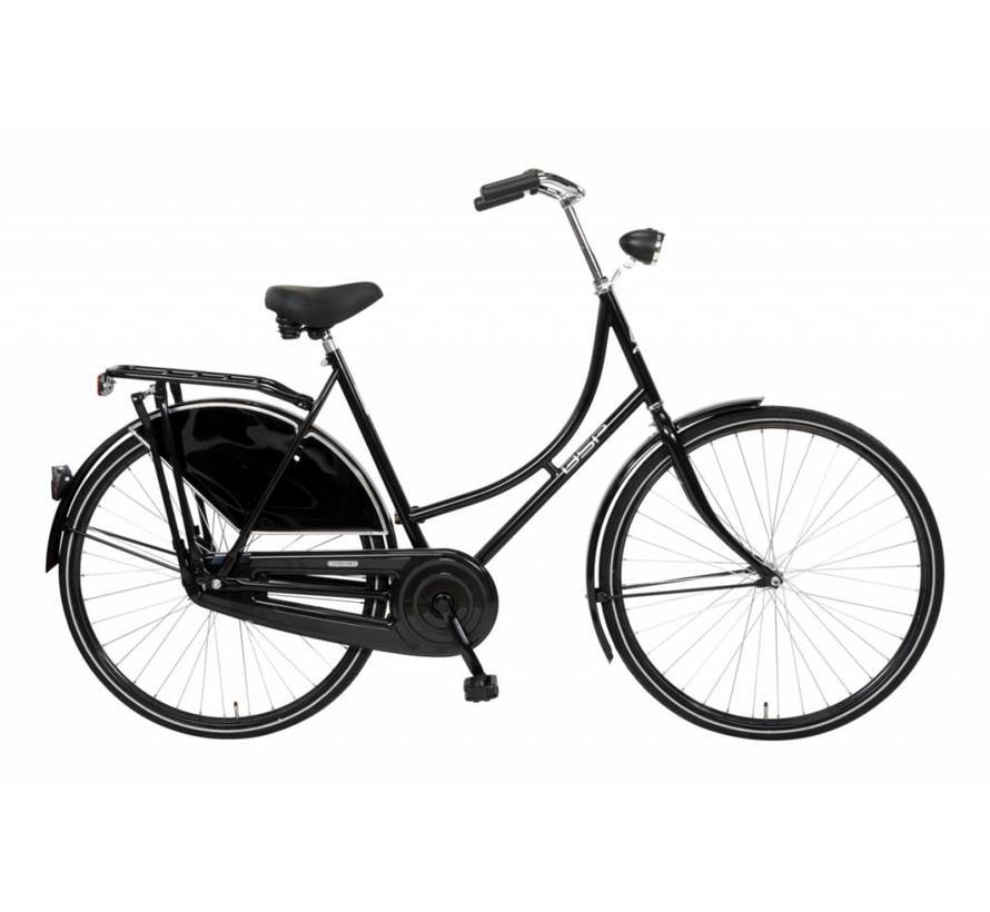 Omafiets Comfort Zwart 57 cm