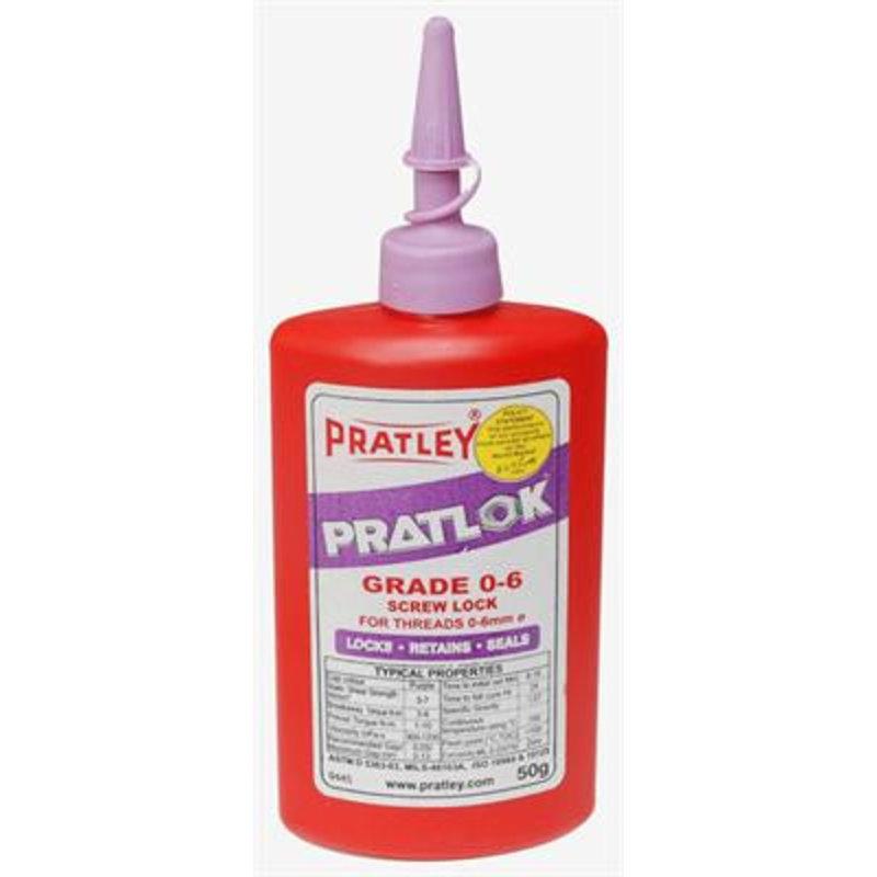 Pratley Pratlok schroefdraadborgmiddel tot M6