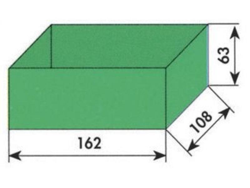 MW Tools Opbergvakje groen 162x108x63mm