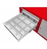 MW Tools Mobiele werktafel met 3 laden