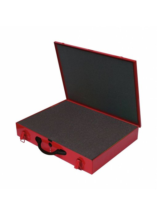 MW Tools Materiaalkoffer metaal met foam inleg