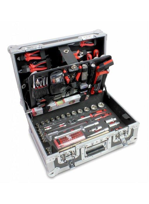 MW Tools Gereedschap topkist 357-delig