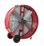 Mobiele ventilator 900 mm 380W
