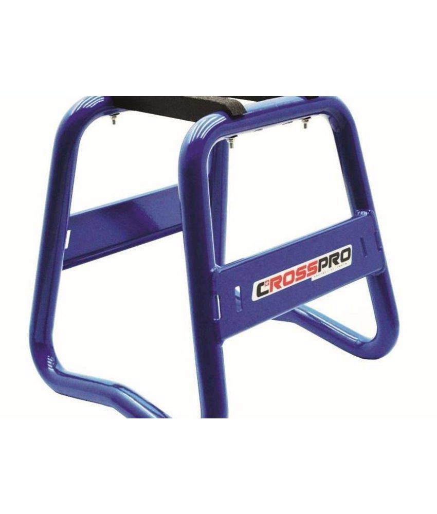 CrossPro Paddockstand Aluminium blauw