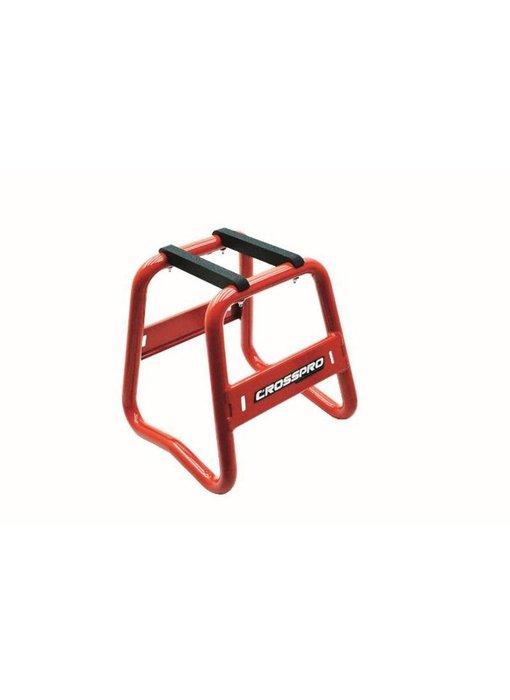CrossPro Paddockstand Aluminium rood