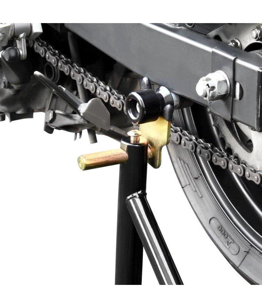 Paddockstand achterwiel bobbins zwart