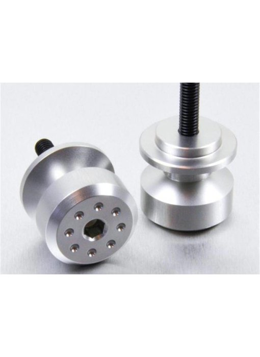 Zilveren aluminium bobbins