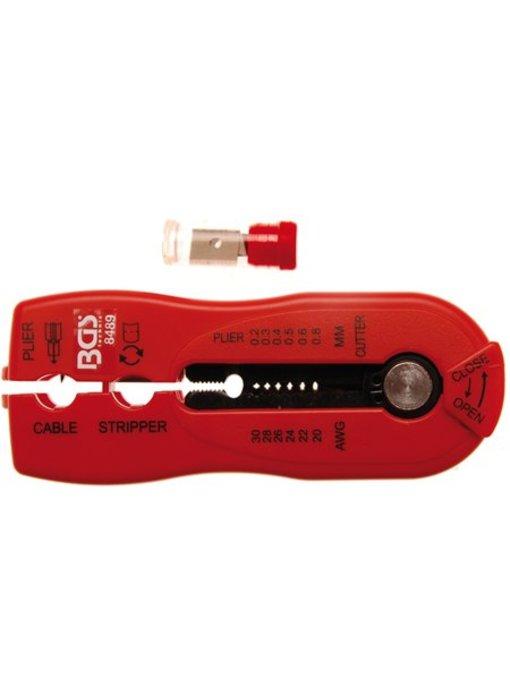 BGS 2-in-1 kabel stripper 0,2-0,8 mm