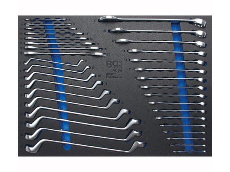 BGS 3/3 35-delige steek-ringsleutel inlegmodule