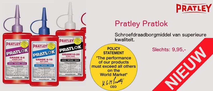 Pratley Pratlok nieuw in het assortiment