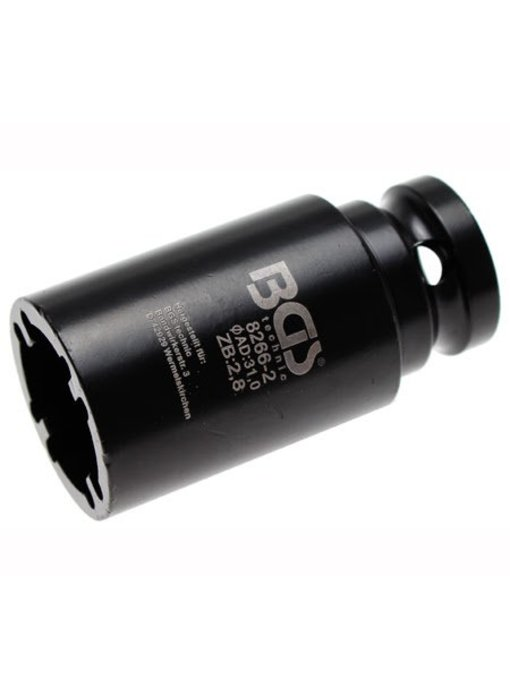 BGS Kroonmoer dopsleutel 20 mm BINNEN