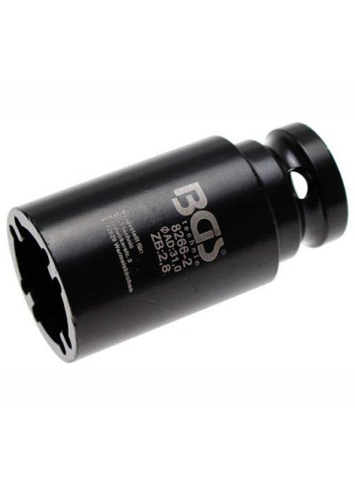 BGS Kroonmoer dopsleutel 23.5 mm BINNEN