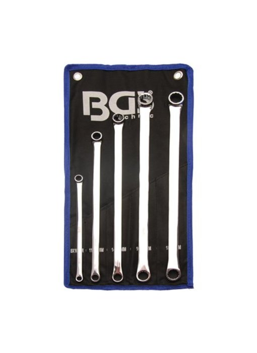 BGS Ringsleutel set Extra lang 8-19 mm