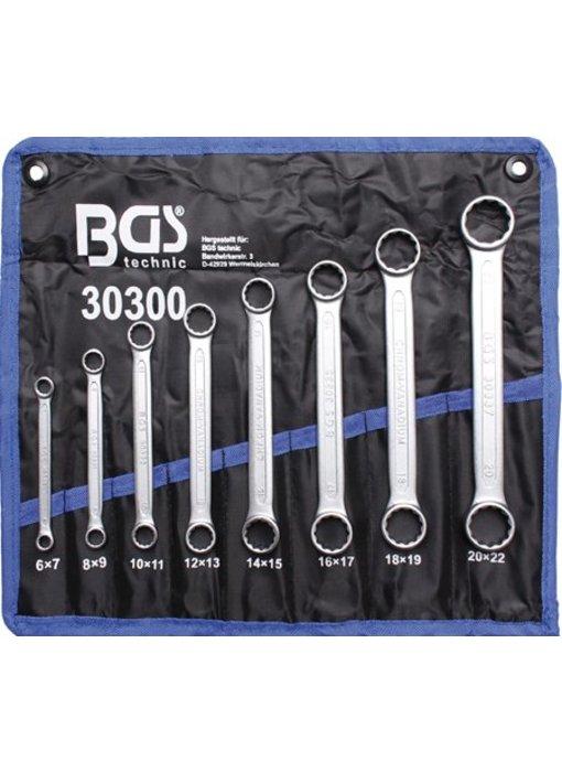 BGS Ringsleutel set Plat