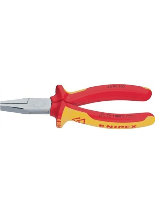 Knipex VDE platbektang 160 mm