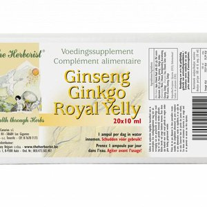 THE HERBORIST Ginseng Ginkgo Royal Jelly