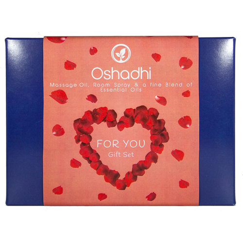 OSHADHI AROMATHERAPY For You Gift Set