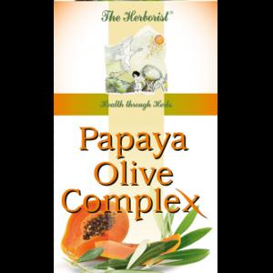 THE HERBORIST Papaya Olive Complex 120 vega caps