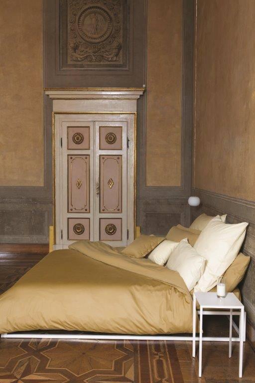 Bassetti Bettbezug Tinta unita, Farbe messing, 135/200 cm