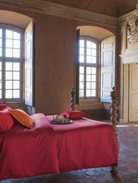 Bassetti Bettbezug Tinta Unita, amaranto rot, 135/200 cm