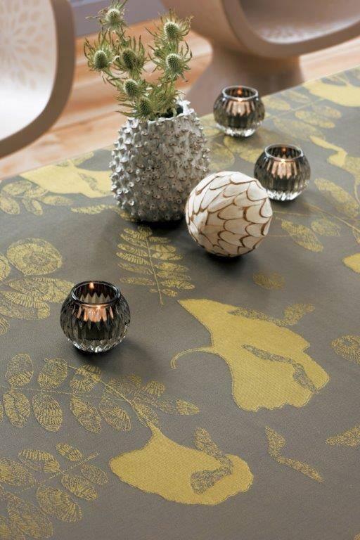 Garnier Thiebaut Tischdecke Millefeuilles bronze