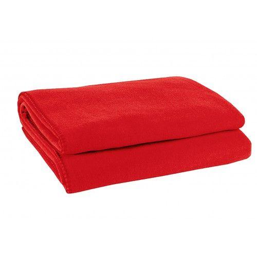 zoeppritz Soft-Fleece 160x200 cm, rot, Farbe 355