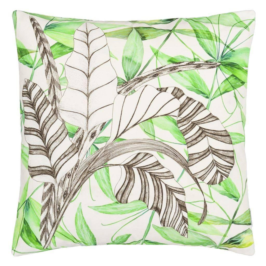 Designers Guild Kissen Palme Botanique Emerald 50x50cm