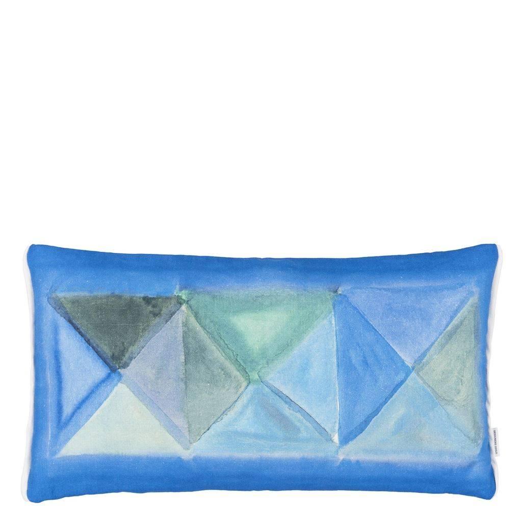 Designers Guild Kissen Bougival Cobalt 30x60cm
