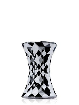 Kartell Hocker Stone, chrom