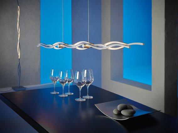 Escale Hängeleuchte Silk, 120 cm lang