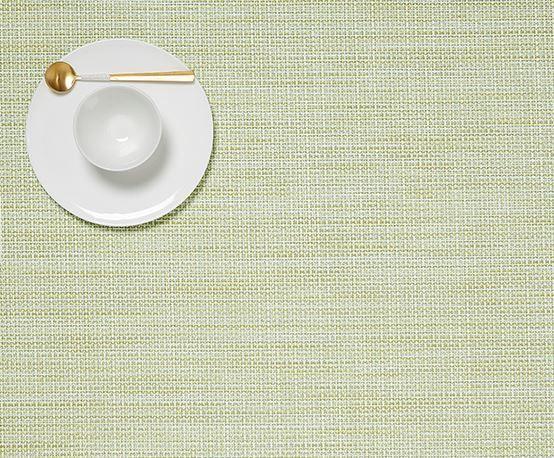 chilewich Tischset Minibsketweave, retangel matcha
