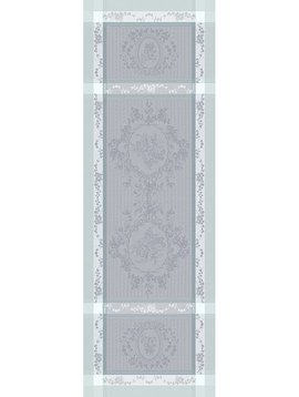 Garnier Thiebaut Tischläufer Lysandra 55x150cm brume