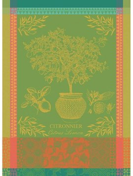 Garnier Thiebaut Geschirrtuch Citronnier