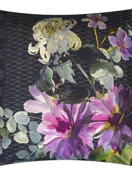 Designers Guild Dekokissen Shalimar Garden, amethyst, 55/55 cm