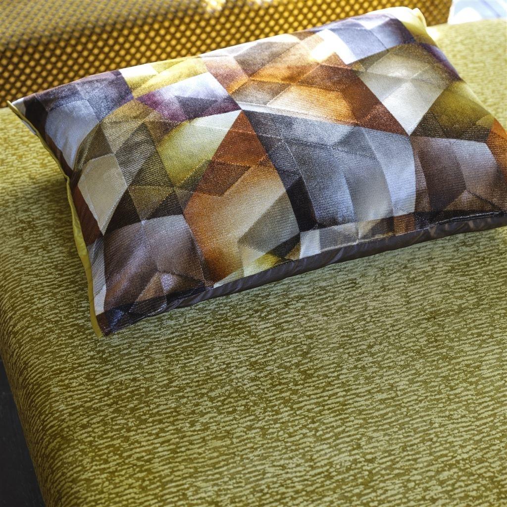 Designers Guild Kissen Maurier Orche 60x45cm