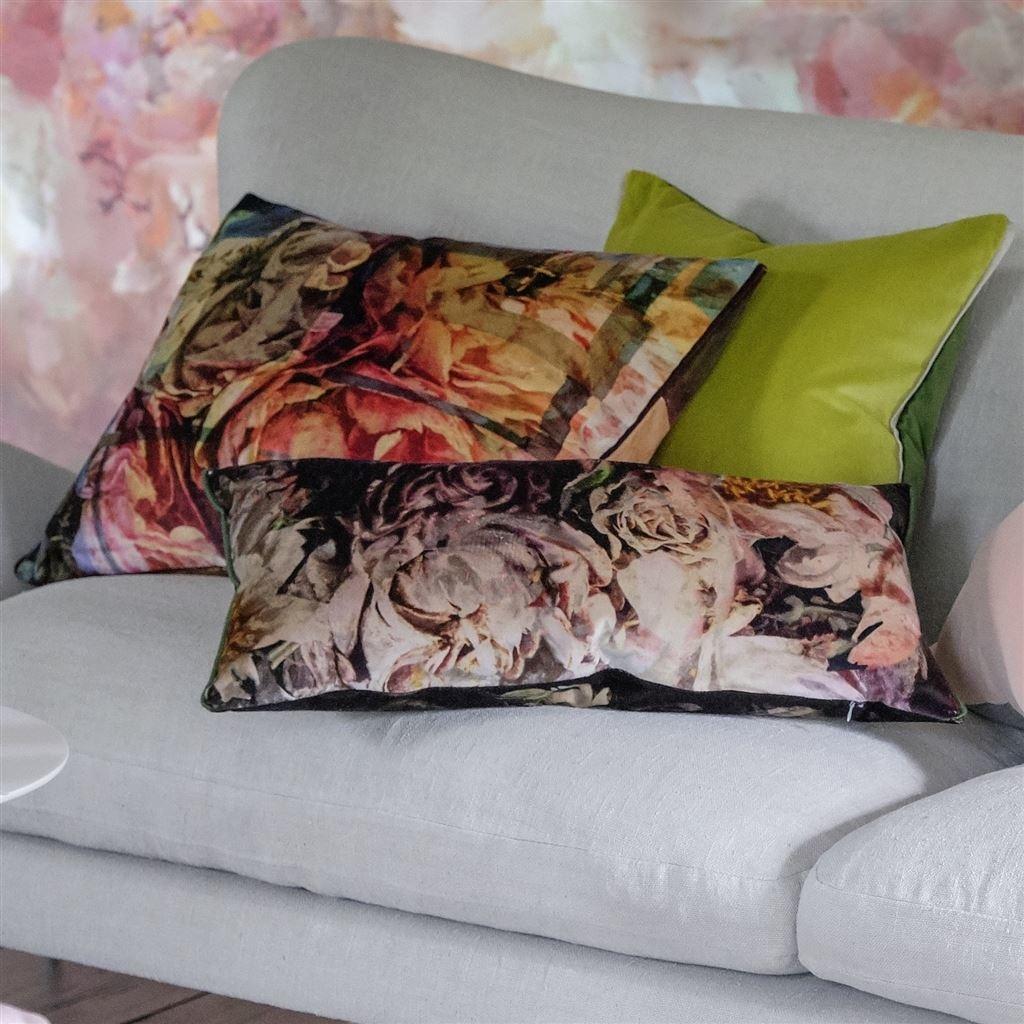 Designers Guild Kissen Fleur De Nuit Noir 30x60cm