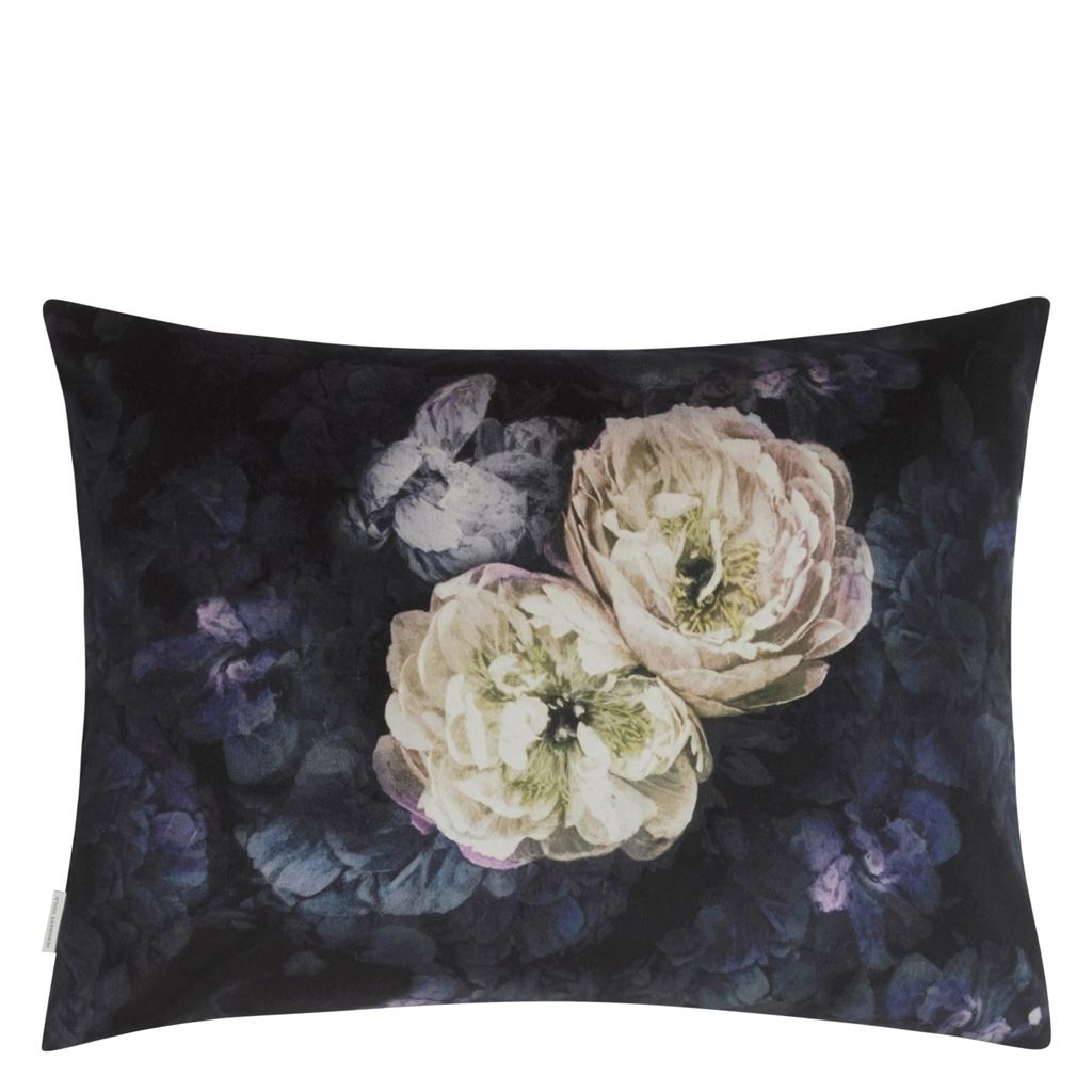 Designers Guild Kissen Le Poem de Fleurs Midnight 60x45cm