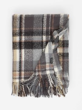 Rohleder Plaid Cosy anthrazite/nude 150x200cm