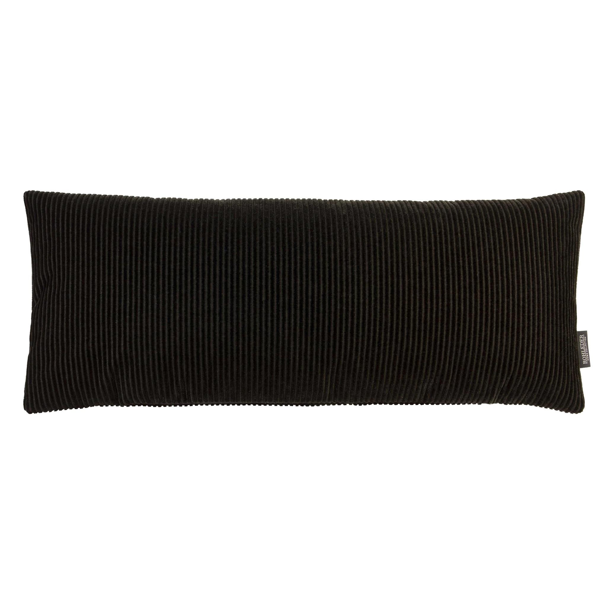 Rohleder Kissen Lounge schwarz 60x25cm