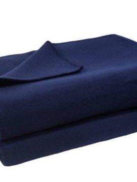 zoeppritz Soft-Fleece 160x200cm Farbe dunkelblau 595