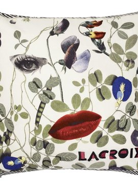 Christian Lacroix Kissen Dame Nature Printemps 40x40cm
