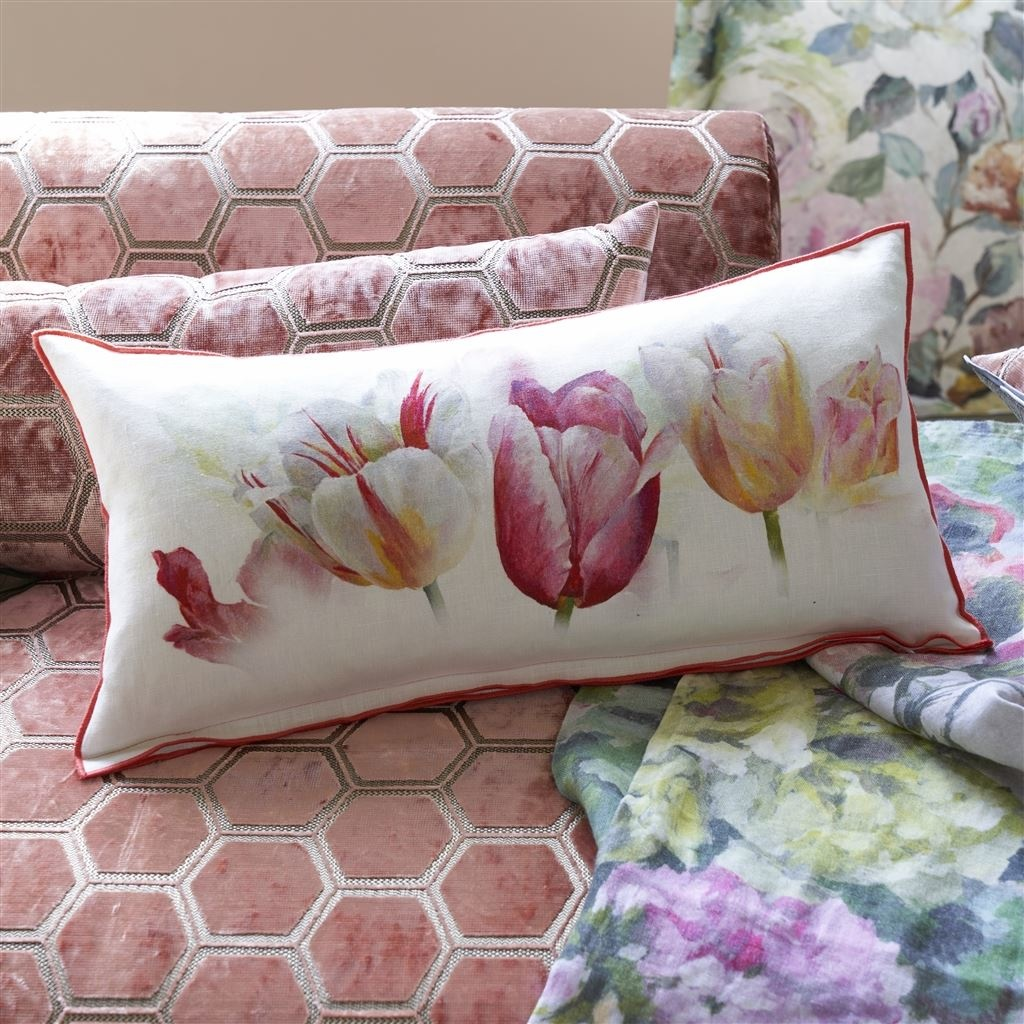 Designers Guild Kissen Tulip Azalea 60x30cm