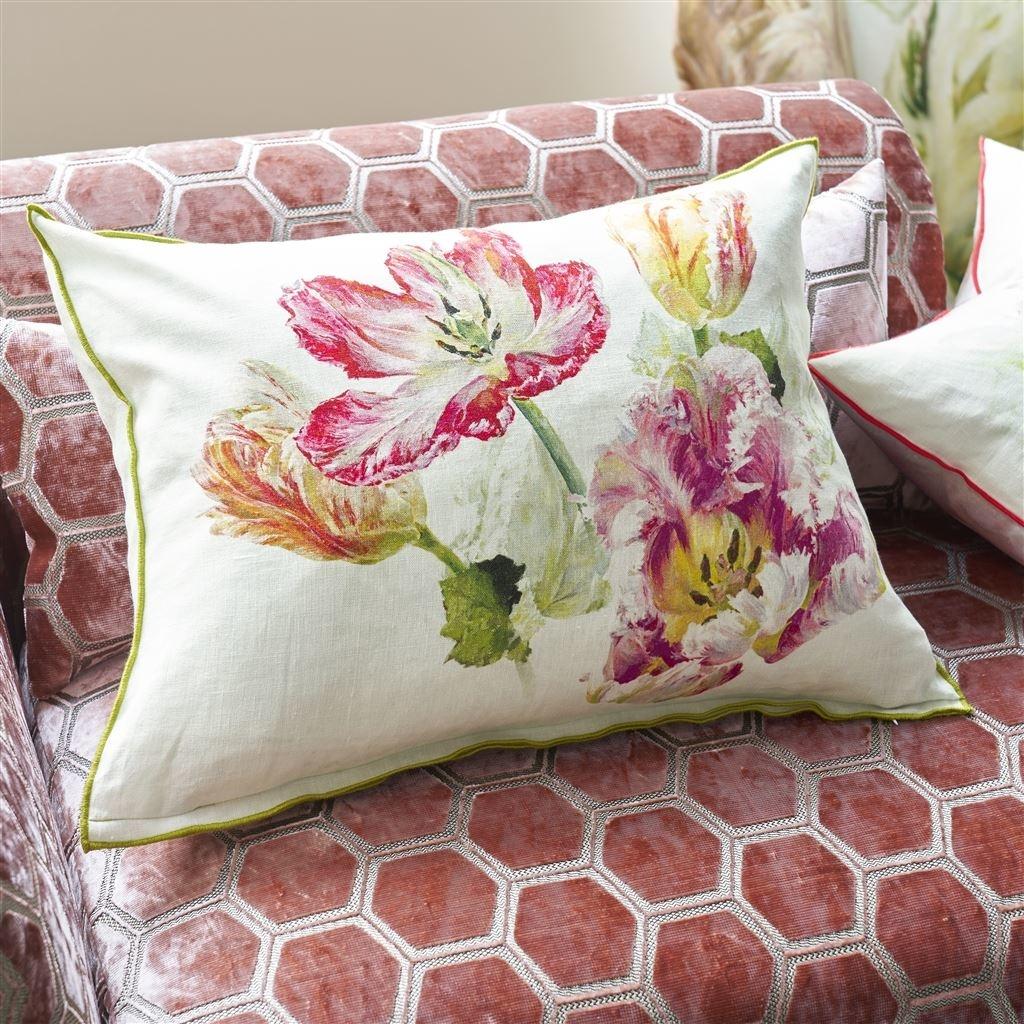 Designers Guild Kissen Spring Tulip Buttermilk 60x45cm